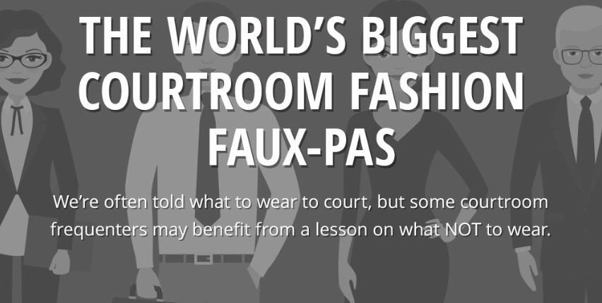 What not to wear to a courtroom