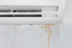 condensation damage on air vent