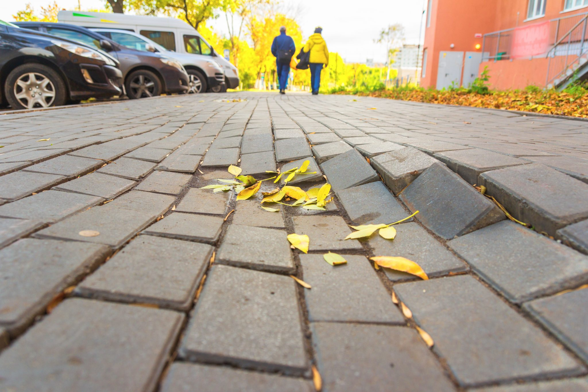 Destruction of paving slabs can lead to negligence lawsuit