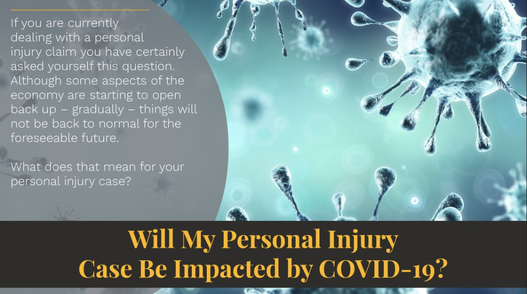 Personal Injury Cases Impacted by COVID 19