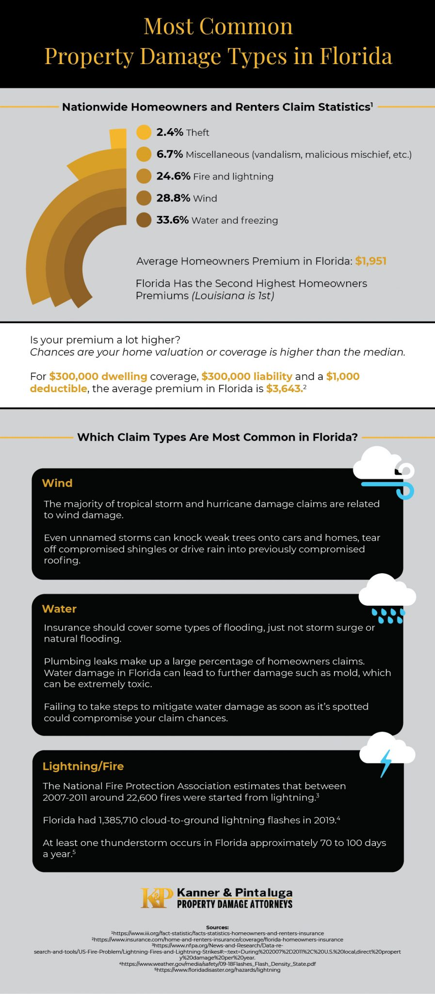 Most Common Property Damage Types in Florida-Kanner and Pintaluga