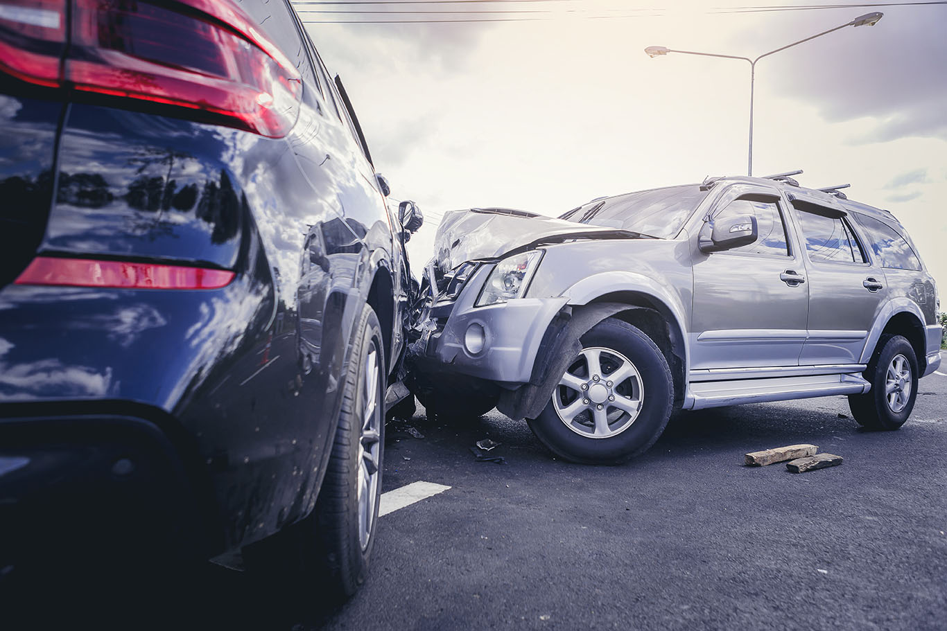 who pays for injuries are car or truck accident