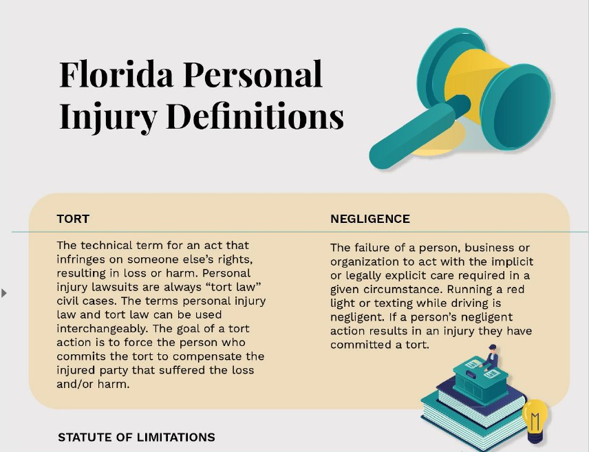 Florida personal injury definitions