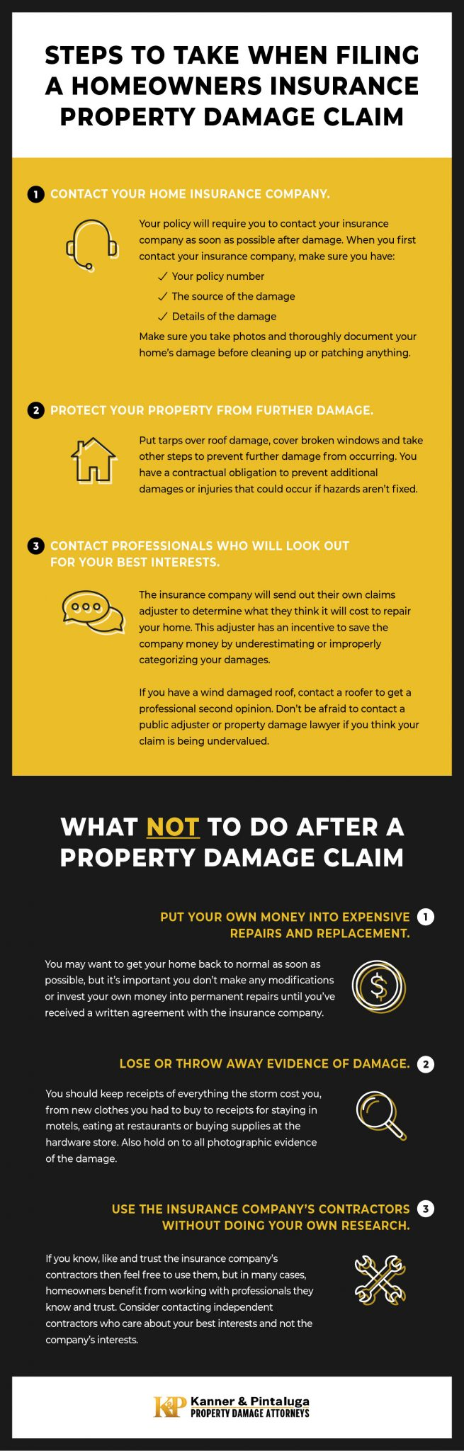 Steps to Take When Filing a Homeowners Insurance Property Damage Claim