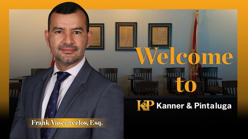 Kanner & Pintaluga Welcomes Frank Vasconcelos in Boca Raton